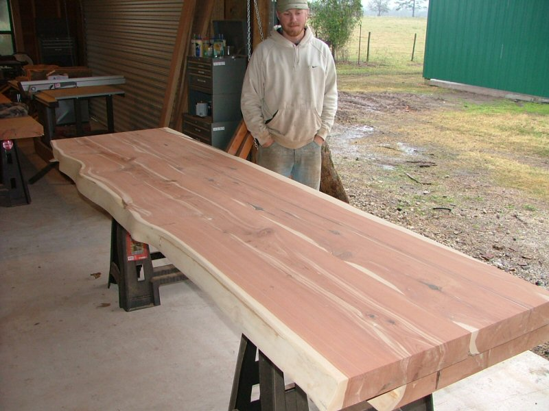 Mgsawmill on Quarter Sawn Red Oak Table